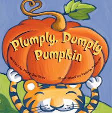 Childrens Halloween Books by Plumply Dumply Pumpkin Book By Mary Serfozo Valeria Petrone