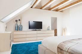 schlafzimmer mit dachschräge ideen zum einrichten gestalten