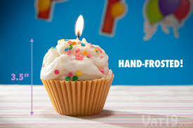 Each Jumbo Cupcake Candle is made by hand in the USA