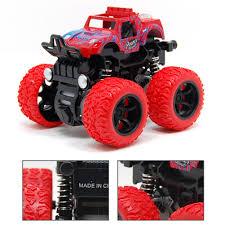 100 Kids Monster Trucks Outdoor Anti Shock Friction Powered Durable Toys Non Slip Inertia Truck