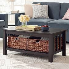 Living Room Table Sets With Storage by Farmhouse U0026 Rustic Coffee Tables Birch Lane