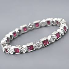 deco ruby and ring deco ruby eternity ring