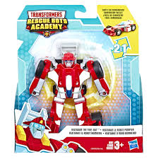 100 Rescue Bots Fire Truck Heatwave Transformer Academy Robot To Race Car 45 Figure