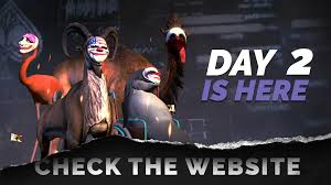 Payday 2 Halloween Masks by Payday 2 Day 2 Of The Goat Simulator Heist Overkill Software