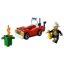 LEGO Set Review: City – Fire Car (30347) | NikZ