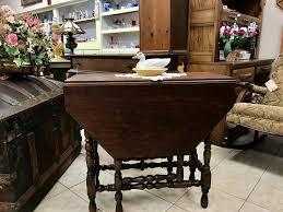 Imperial Furniture Company Grand Rapids Michigan Co Gateleg Table Antique