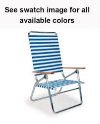 Telescope Beach Chairs Free Shipping by Jgr Deluxe Mid Height Oversize Beach Chair