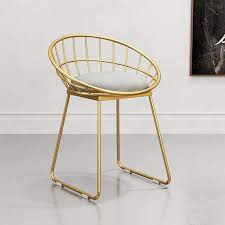 de yxlzzo metall esszimmerstuhl goldene stuhl beine