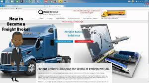 RateTranZ How To Become A Freight Broker - YouTube