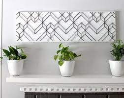 Geometric Wall Art Modern Black And White