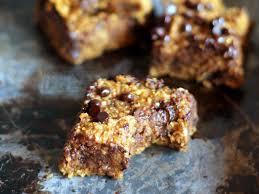 Healthy Chocolate Pumpkin Desserts by Healthy Pumpkin Chocolate Chip Oat Bars Ambitious Kitchen
