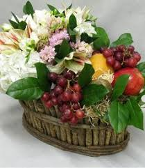 Handpicked Fruit Set In A Rustic Vine Basket From Great For Anyone On Your List
