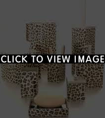 Cheetah Bathroom Rug Set by Leopard Print Bathroom Sets Home Design Ideas And Inspiration