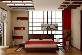 Modern Japanese Decor Bedroom Style Furniture Set