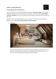 100 Home Design Ideas Website Get Villa Interior For Villa Bedrooms Kuviostudio