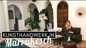diy inspiration traditionelles kunsthandwerk in den souks marrakech marokko vlog