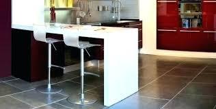 fabriquer table haute cuisine table bar plan de travail hauteur table bar cuisine mobilier maison