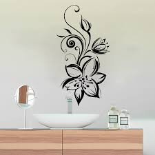 Wall Mural Decals Flowers by Online Get Cheap Flower Decal Wall Mural Aliexpress Com Alibaba