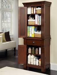 Free Standing Corner Pantry Cabinet by Tall Narrow Kitchen Cabinet With Bookshelf Astonishing Ikea