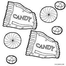 Candy Land Coloring Pages Candyland Board