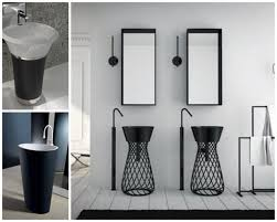 pedestal sinks for small bathrooms corner bathroom laundry with