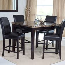 Dining Room Tables At Walmart by Palazzo Counter Height Dining Table Walmart Within Tall Dining
