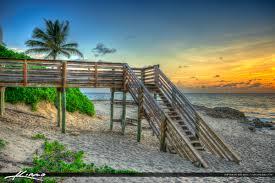stairs to beach bathtub beach stuart florida