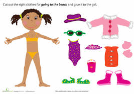 Clothing For Doll Dress Up Clipart Preschool