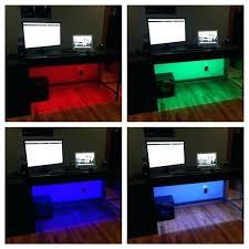 computer desk kit computer desk led lighting using an easy