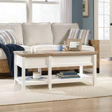 Sauder Shoal Creek Dresser Soft White Finish by Sauder Cottage Road Lift Top Coffee Table 421463 U2013 Sauder The
