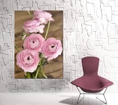 Shabby Chic Canvas Art Large Artwork Floral Wall Rustic Decor Wrap