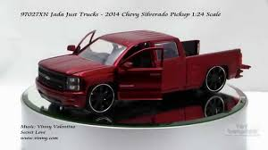 100 Chevy Trucks 2014 97027XN Jada Just Silverado Pickup 124 Scale