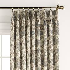 Traverse Rod Curtain Panels by Pleated Curtains Pleated Drapes Altmeyer U0027s Bedbathhome