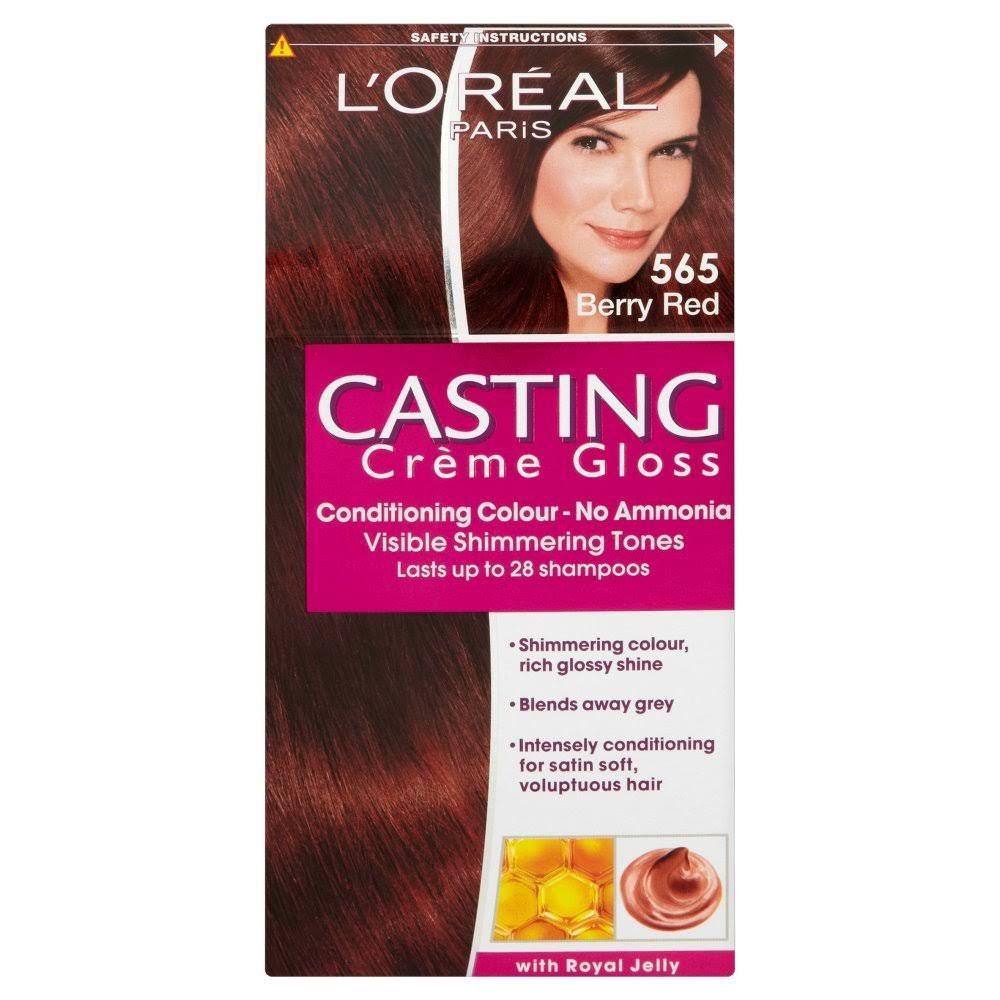 L'Oreal Paris Casting Creme Gloss Hair Dye - 565 Berry Red