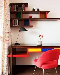bureau coloré un bureau coloré par franz potisek bureau design décoration