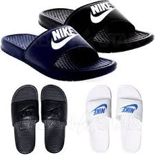 Image Is Loading Nike Flip Flops BENASSI JDI Slide Pool Slippers