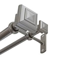 Target Double Curtain Rod by Shop Curtain Rods U0026 Hardware At Lowes Com