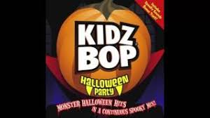 Kidz Bop Halloween Hits by I Want Candy Kidz Bop Kids