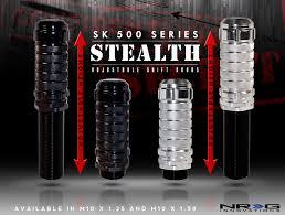 NRG SK 500 STEALTH Series Adjustable Shift Knob