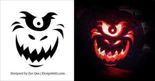 Walking Dead Pumpkin Stencils Printable by Free Printable Pumpkin Carving Stencils U2013 Festival Collections
