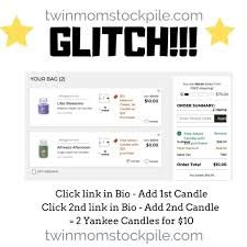 YANKEE CANDLE GLITCH!! 2 Candles For $10 | TwinMomStockpile Free Walgreens Photo Book Coupon Code Yankee Candle Company Will Not Honor Their Feb 04 2018 Woodwick Candle Pet Hotel Coupons Petsmart Buy 3 Large Jar Candles Get Free Life Inside The Page Coupon Save 2000 Joesnewbalanceoutlet 30 Discount Theatre Red Wing Shoes Promo Big 10 Online Store 2 Get Free Valid On Everything Money Saver Sale Fox2nowcom Kurios Cabinet Of Curiosities Edmton Choice Jan 29 Retail Roundup Ulta Joann Fabrics