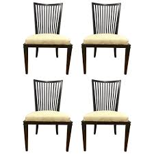 Barbara Barry Collection For Baker Furniture Set Of Four Dining Room Chairs Sale