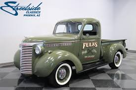1940 Chevrolet 3/4 Ton Pickup | Streetside Classics - The Nation's ... 1940 Chevrolet Pickup For Sale 2182354 Hemmings Motor News Short Box Truck Pick Up Truck Stock Photo 168571333 Alamy Gateway Classic Cars 739ftl Sale Classiccarscom Cc1107386 Rm Sothebys Custom Collector Of Fort Grain 32500 In Plano Dont Flatbed Hot Rod Network Cc1129544 Chevy Vroom Pinterest Pickups And Master