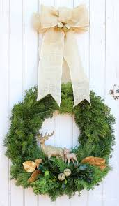 Types Of Live Christmas Trees by How To Make A Traditional Christmas Wreath Fynes Designs Fynes