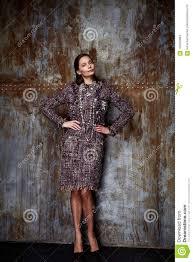 Designtendenzkleidungs Wolle Cashm Der Schonheitsfrauenmodellabnutzung Stilvolles
