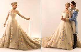 making cinderella u0027s wedding gown vanity fair