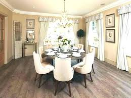 Round Dining Room Table Decorating Ideas Centerpieces Decorations