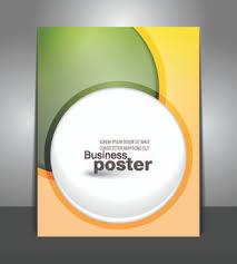 Creative Business Poster Design Vector