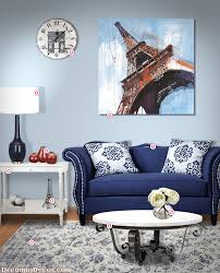 paris themed decor for every room in your home