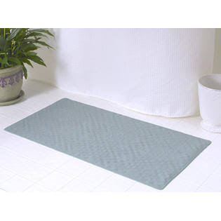Carnation Home Fashions Rubber Bath Tub Mat, Sage